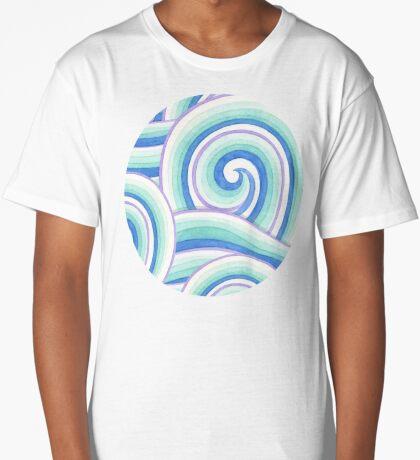 Auspicious Waves Long T-Shirt