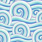 Auspicious Waves by PatriciaSheaArt