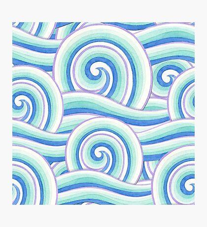 Auspicious Waves Photographic Print