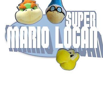 Bowser Junior, Cody, and Joseph - Super Mario Logan by Logambz