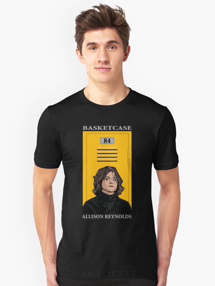Allison from The Breakfast Club Unisex T-Shirt Front