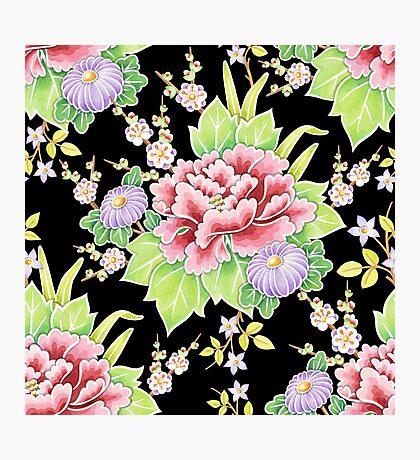 Kimono Bouquet Chintz Photographic Print