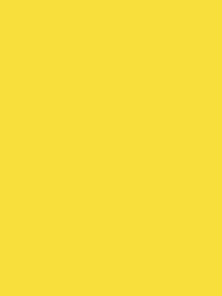 Butterblume | Pantone Fashion Color Frühling: Sommer 2016 | Einfarbig von EclecticAtHeART