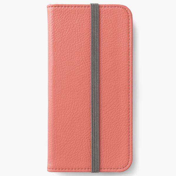 Peach Echo 16-1548 TCX   Pantone   Color Trends   Spring Summer 2016   Solid Colors   Fashion Colors   iPhone Wallet