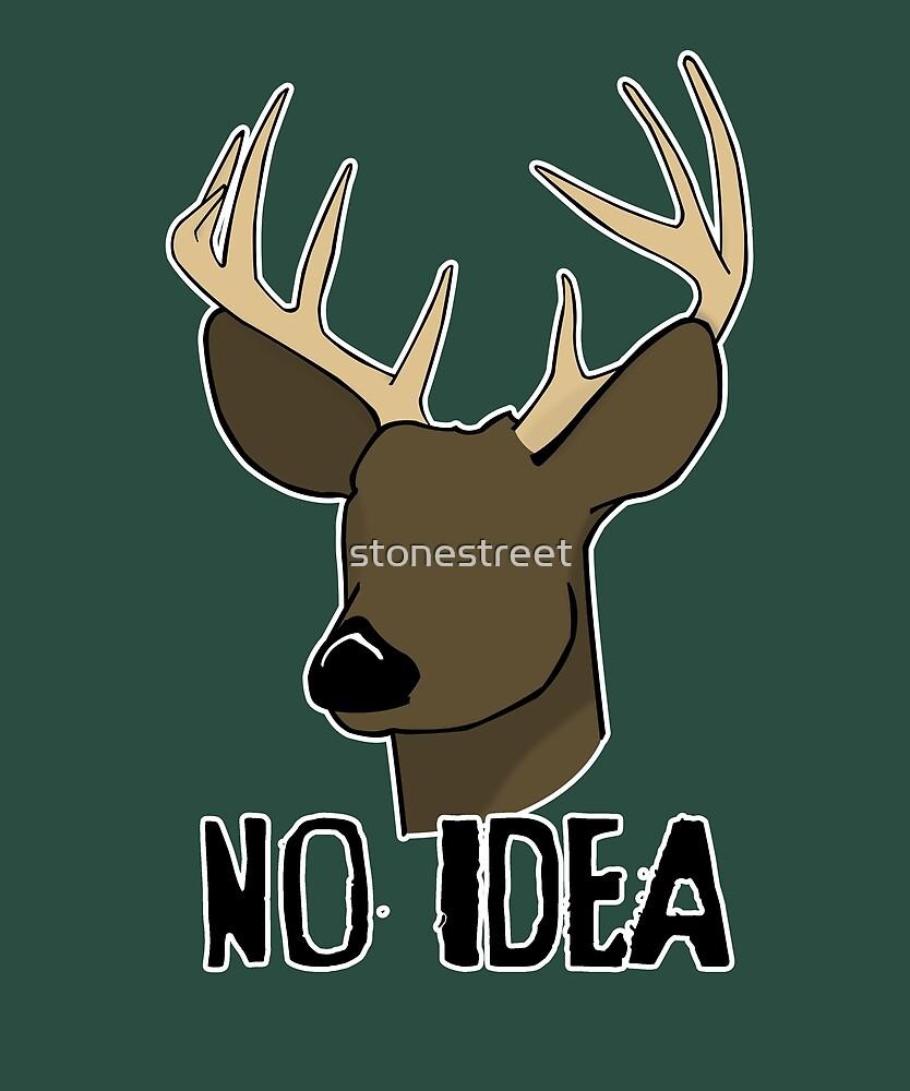 No Eye Deer by stonestreet