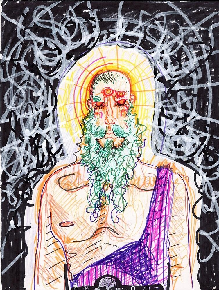 Four Eyes, Green Beard by Jared Miller