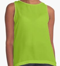 Lime Green | Solid Color Contrast Tank