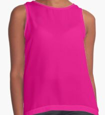 Hot Pink | Solid Color Contrast Tank