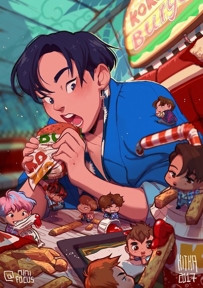 Ko Ko Burger by Kitkaloid
