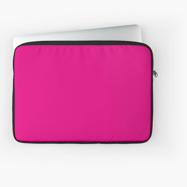 Hot Pink | Solid Color |  Laptop Sleeve