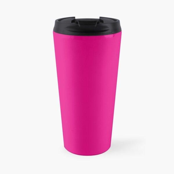 Hot Pink | Solid Color |  Travel Mug