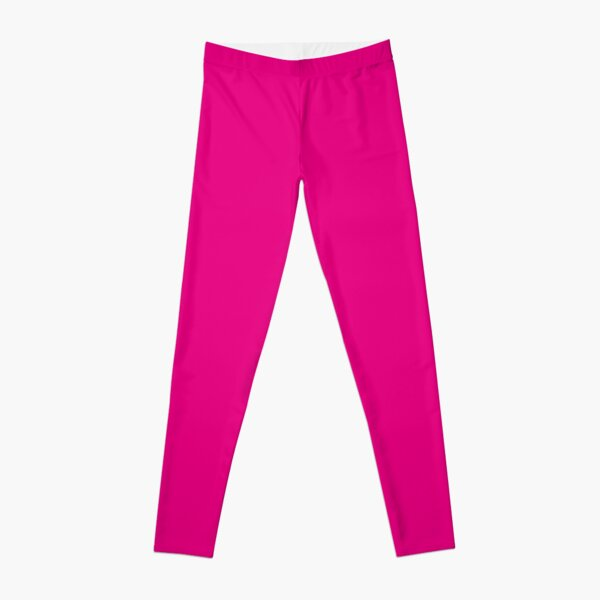 Hot Pink | Solid Color |  Leggings