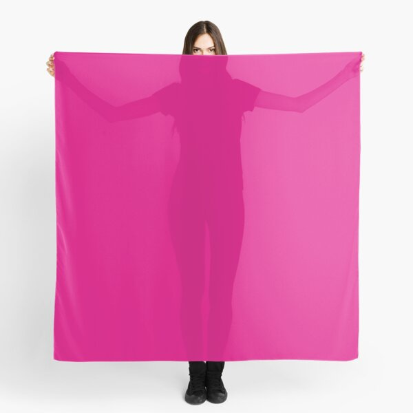 Hot Pink | Solid Color |  Scarf