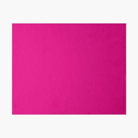 Hot Pink | Solid Color |  Art Board Print