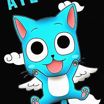 cat blue by luna12345