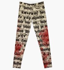Intellectual Gore Leggings