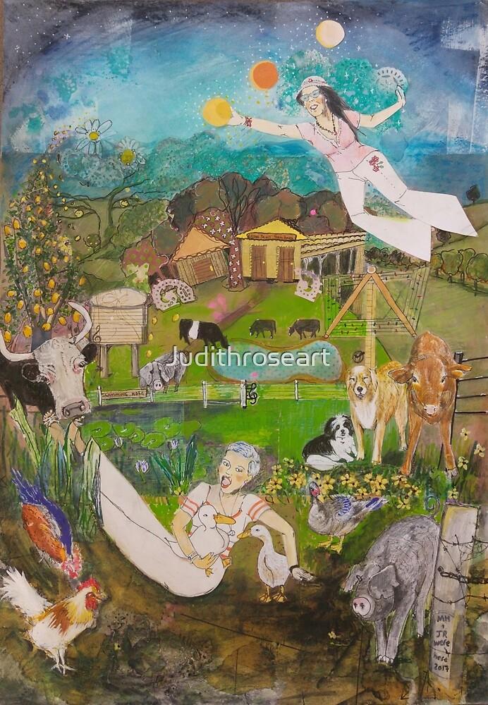 Cedar Pocket Farmstay  by Judithroseart