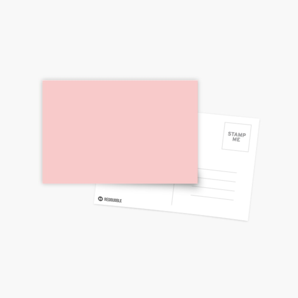 Rose Quartz 13-1520 TCX   Pantone Color of the Year 2016   Pantone   Color Trends   Solid Colors   Fashion Colors   Postcard