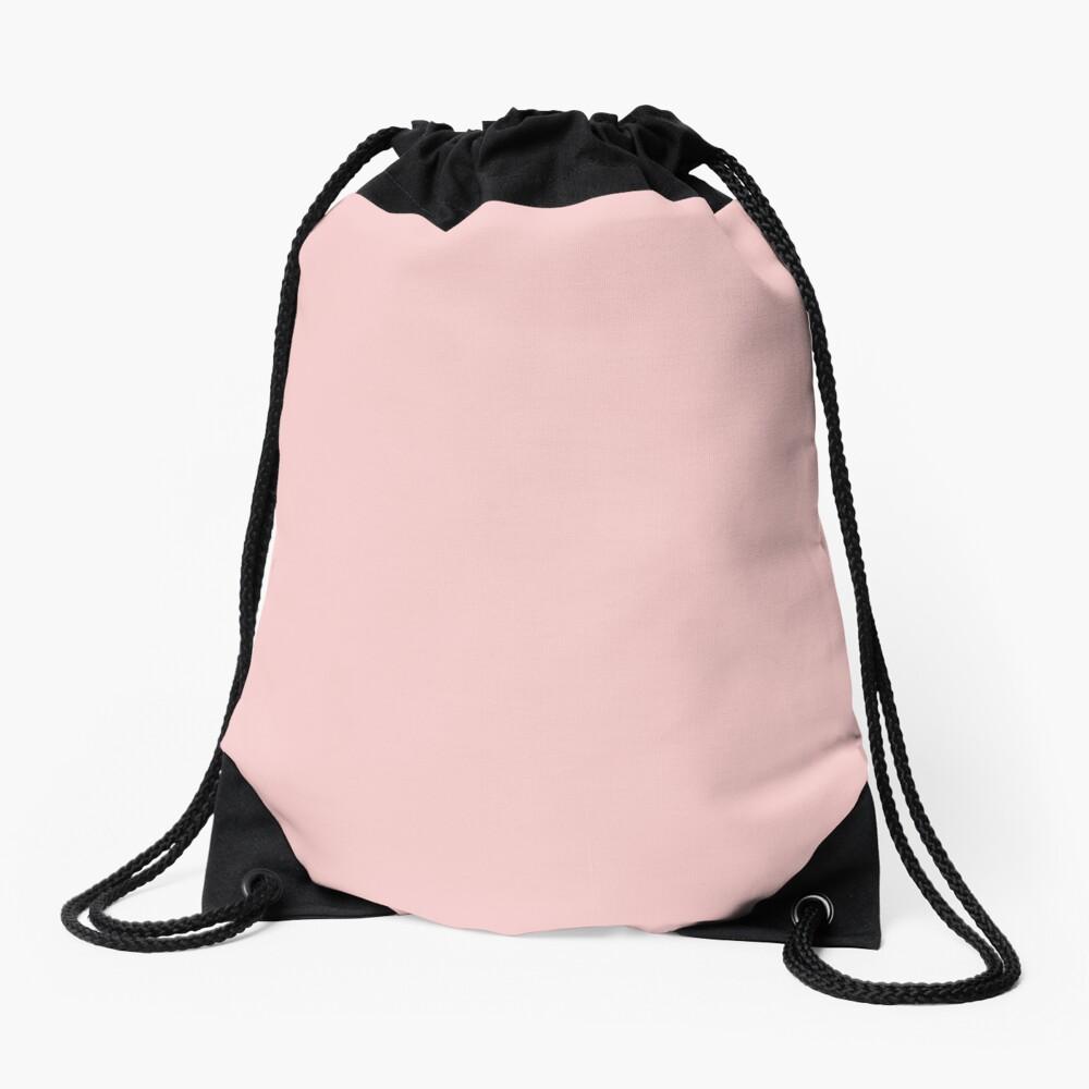 Rose Quartz 13-1520 TCX | Pantone Color of the Year 2016 | Pantone | Color Trends | Solid Colors | Fashion Colors | Drawstring Bag