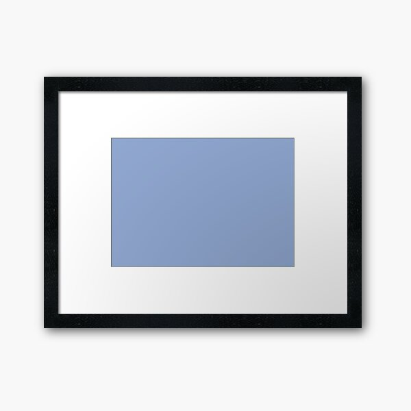 Serenity 15-3919 TCX | Pantone Color of the Year 2016 | Pantone | Color Trends | Solid Colors | Fashion Colors | Framed Art Print