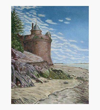 Tower, Mont St. Michel Normandie Photographic Print