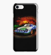 Alitalia Lancia Stratos HF iPhone Case/Skin