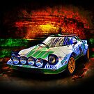 Alitalia Lancia Stratos HF by Stuart Row