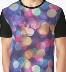 Bokeh Abstract Pattern Texture Graphic T-Shirt