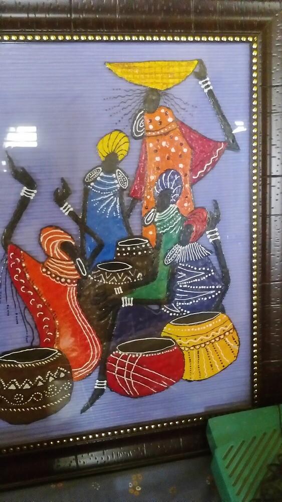 african design by devanshi chokshi