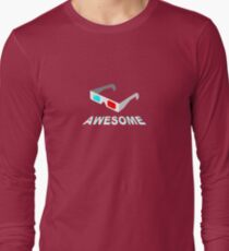 Three Dee Long Sleeve T-Shirt