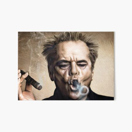Jack Nicholson Art Board Print
