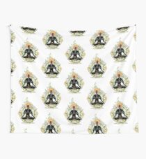 Yoga : Mind Body and Soul KUNDALINI Wall Tapestry