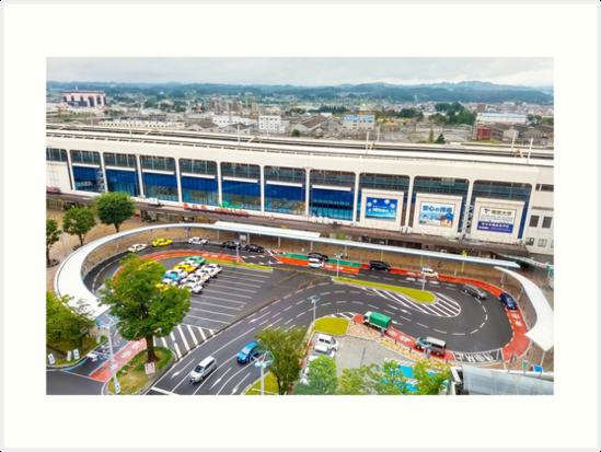 Koriyama Station by hexadstudio