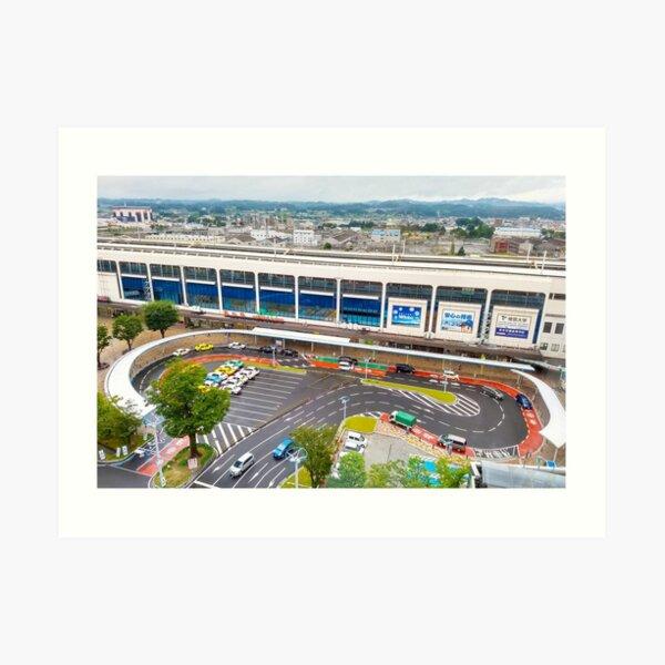 Koriyama Station Art Print