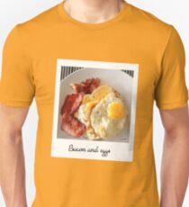 Polaroid bacon and eggs T-Shirt