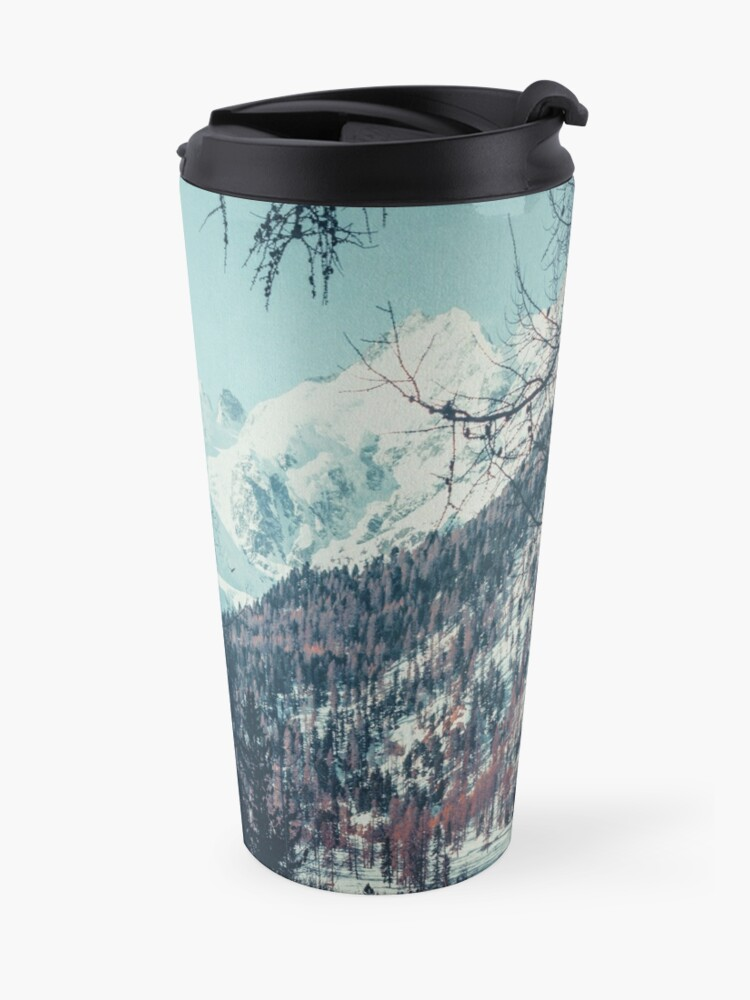 Alternate view of Please Come Back Travel Mug