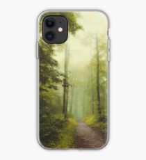 Long Forest Walk iPhone Case