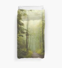 Long Forest Walk Duvet Cover