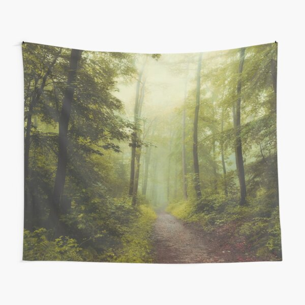 Long Forest Walk Tapestry