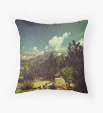 Italian Mountains Throw Pillow