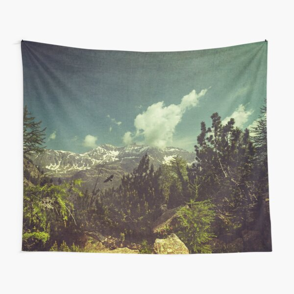 Italian Mountains Tapestry