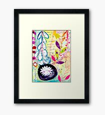 Color Venting Framed Print