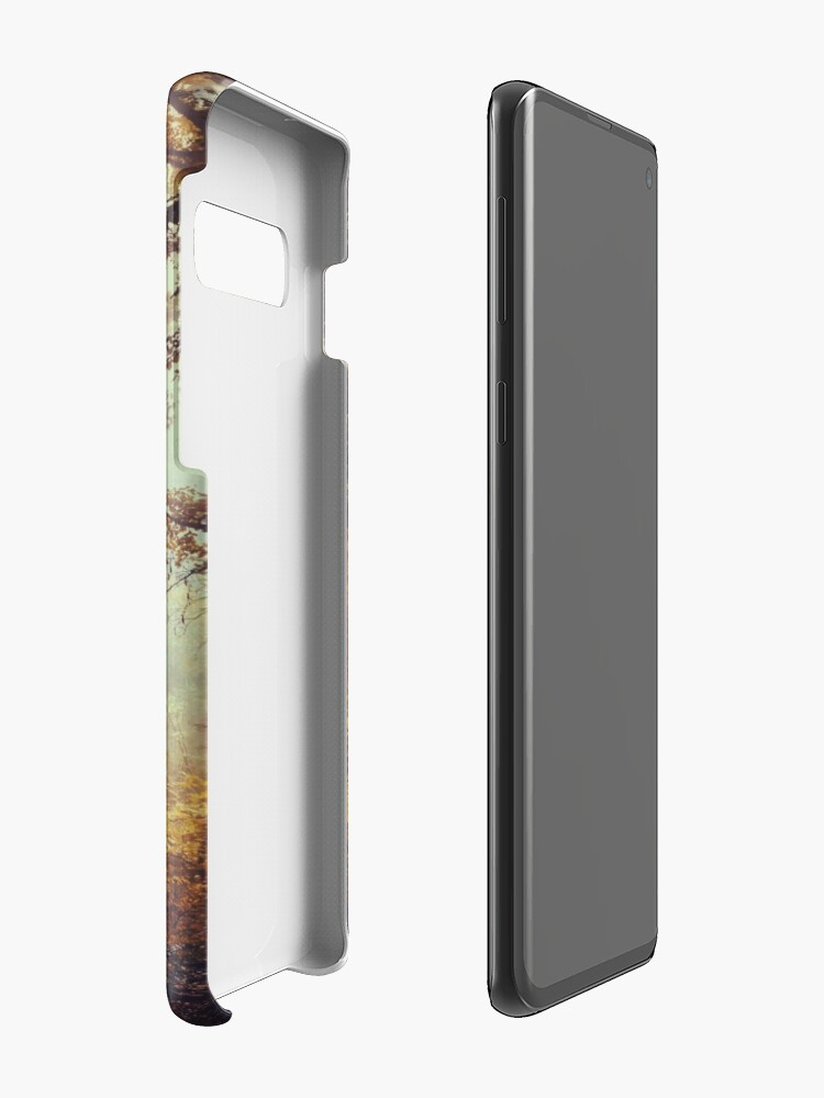 Alternate view of silent forest Case & Skin for Samsung Galaxy