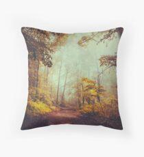 silent forest Throw Pillow