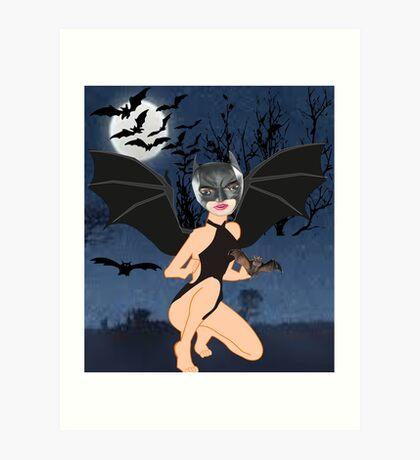 Bats (5104 Views) Art Print
