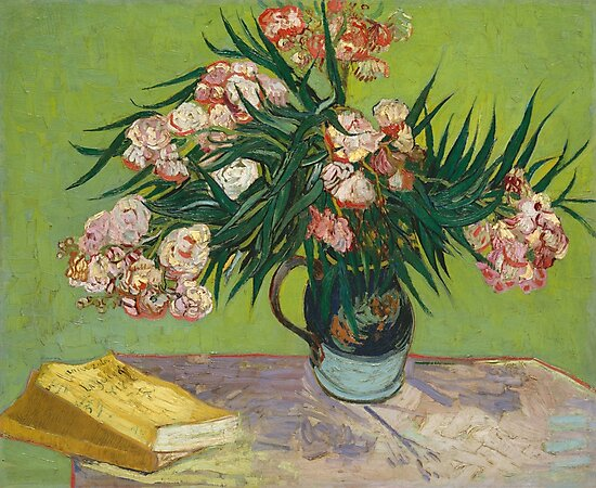 Oleanders by Vincent Van Gogh, 1888 by fineearth