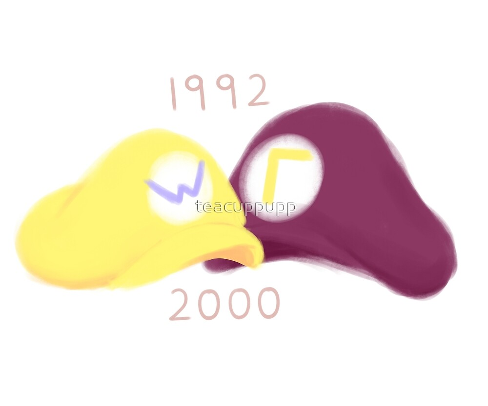 wario and waluigi by teacuppupp