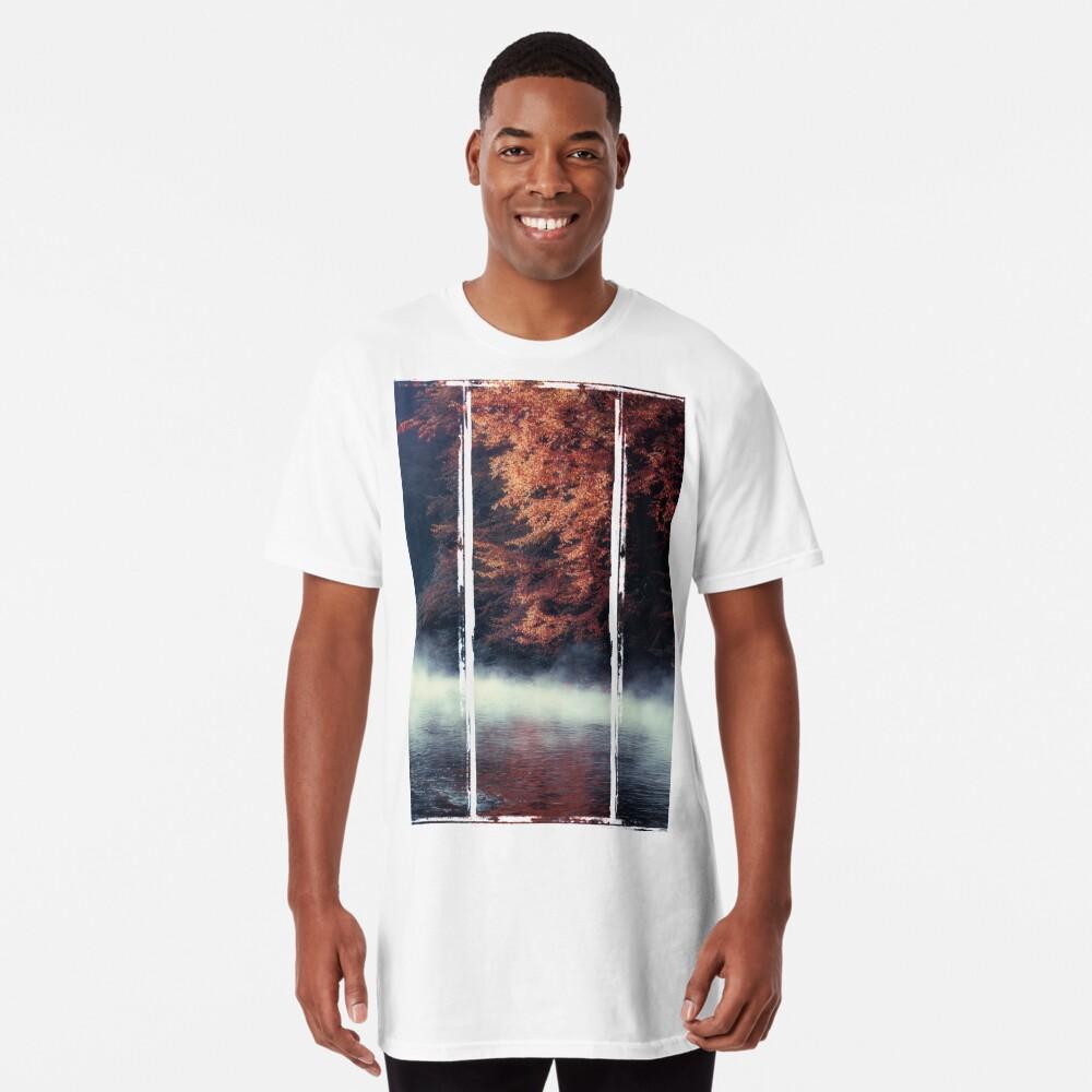 Nature*s Mirror - Fall at the River Long T-Shirt