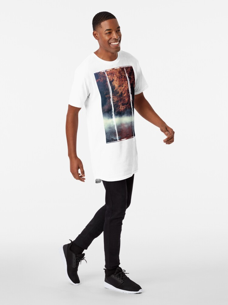 Alternate view of Nature*s Mirror - Fall at the River Long T-Shirt