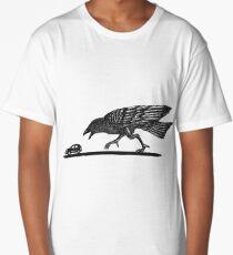 T-Rex bird (white background) Long T-Shirt